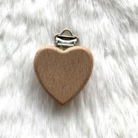 Speenclip hout - hart