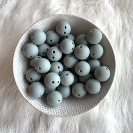 Safety bead 15mm - grizzled grey