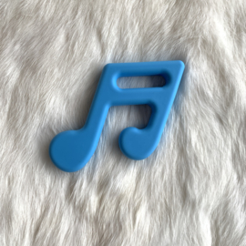 Muzieknoot - hemels blauw