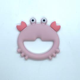 Krab - pastel roze
