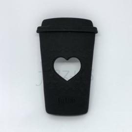 Koffie beker - zwart