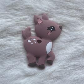 Deer teether - blush 2