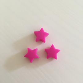 Small star - fuchsia