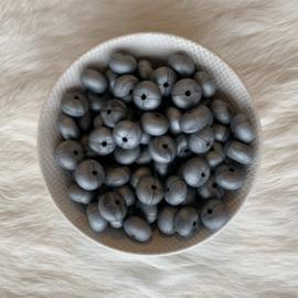 Kleine abacus - parelmoer zilver