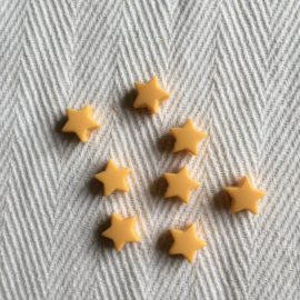 Small star - gold yellow