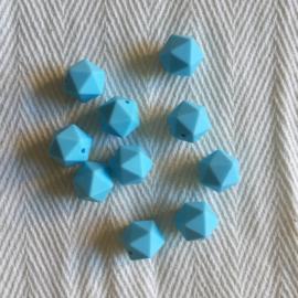 Kleine icosahedron - babyblauw