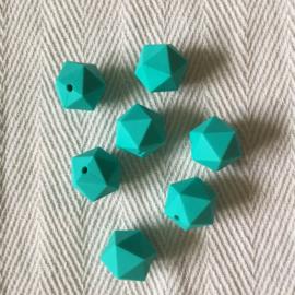 Icosahedron - turquoise