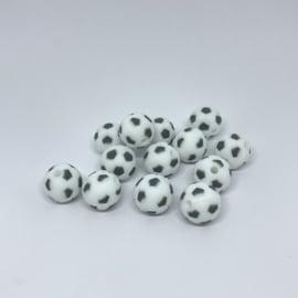 15mm - voetbal donker grijs