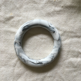 Silicone ring - marble