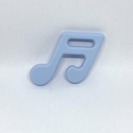 Muzieknoot - zacht blauw