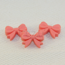 Strikje - flamingo roze