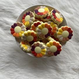 Flower power kraal - herfst tinten
