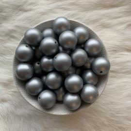 19mm - zilver print