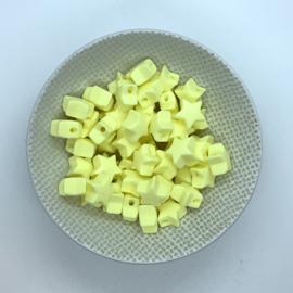 Kleine ster - creme geel