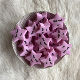 Slapend sterretje kraal - baby roze