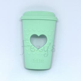 Koffie beker - mint