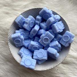 Camera kraal - licht blauw