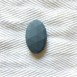Big oval - dark grey