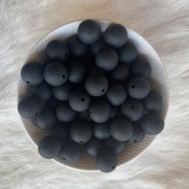 15mm lederlook - zwart