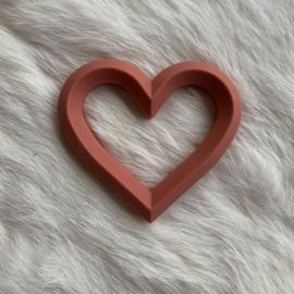 Hart met 2 gaten - clay
