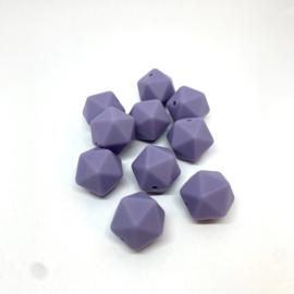 Icosahedron 17mm - donker lila