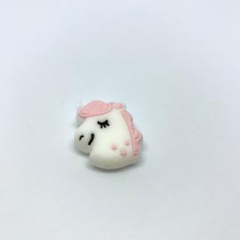 Eenhoorn kraal - pastel roze