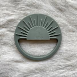 Sunshine teether - clay green