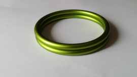 Slingrings size L - matte lime green
