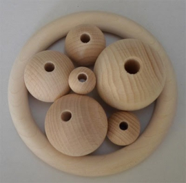 Wooden bead - 25mm
