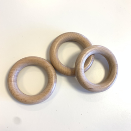 Houten ring 55mm luxe
