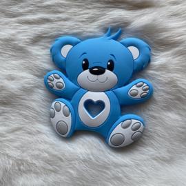 Bear teether - sky blue