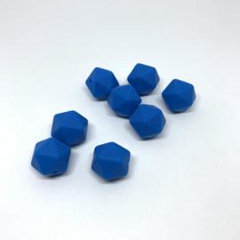 Kleine icosahedron - jeans blauw