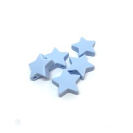 Ster M - zacht blauw