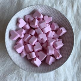 Klein hartje - zacht roze