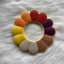 Bloem bijtfiguur - herfst tinten