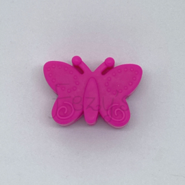 Vlinder kraal - fuchsia