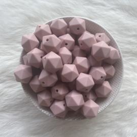 Kleine icosahedron - oud roze