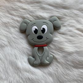 Dog teether - grey