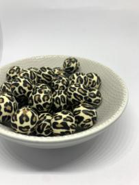 12mm - luipaard print beige