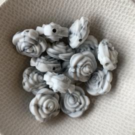Kleine bloem - marmer