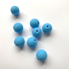 15mm striped - sky blue