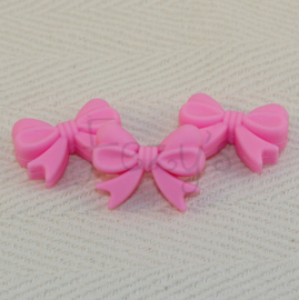Strikje - roze