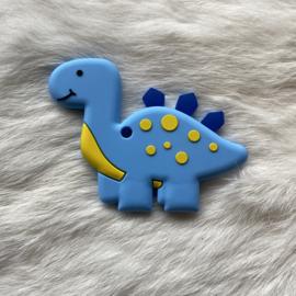 Brachiosaurus bijtfiguur - licht blauw