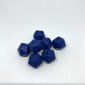 Icosahedron 17mm - sapphire blauw