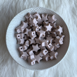 Kleine ster - rosy brown
