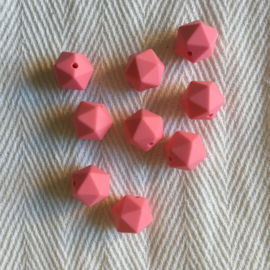 Kleine icosahedron - koraal roze