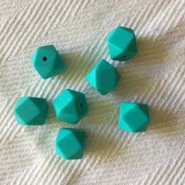 Kleine hexagon - turquoise