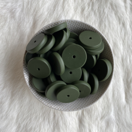 Coin bead 25mm - hunter
