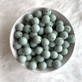 Safety bead 12mm - sage