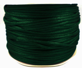 Satijnkoord - donker groen